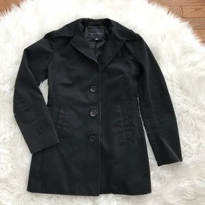 • Banana Republic • Black Button Down Jacket XS